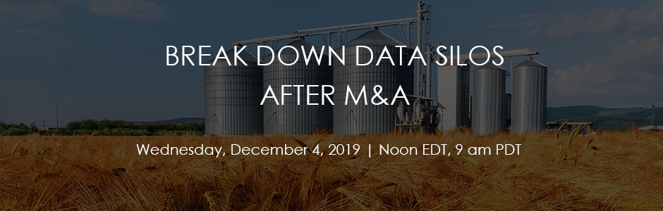 Breaking Down Data Silos After M&A Registration Page